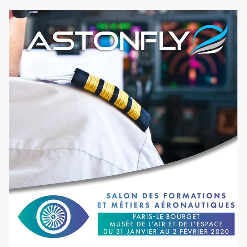 Astonfly au salon des formation et métiers aéronautiques