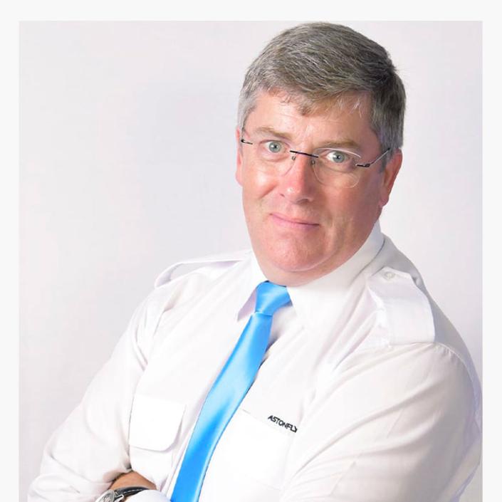 Patrick Milward directeur général Astonfly