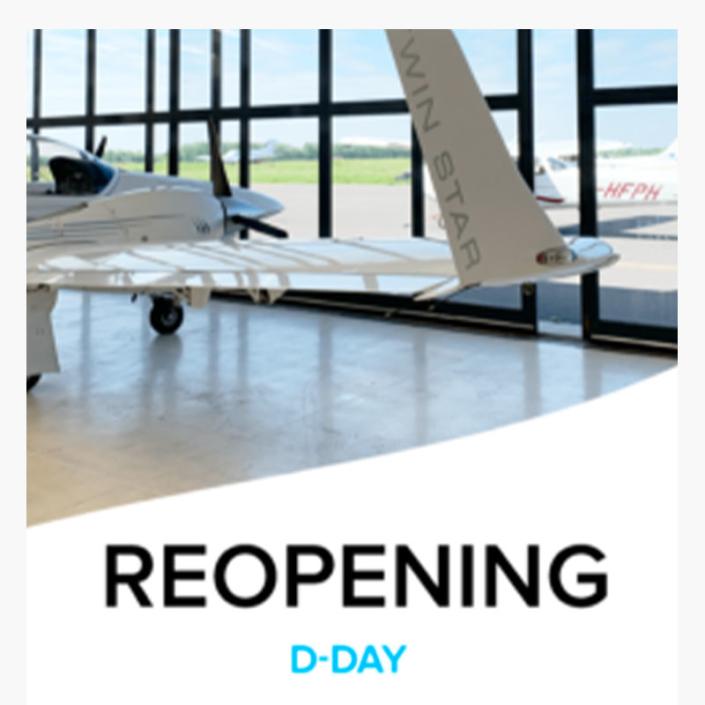 Réouverture du centre de formation au pilotage Astonfly