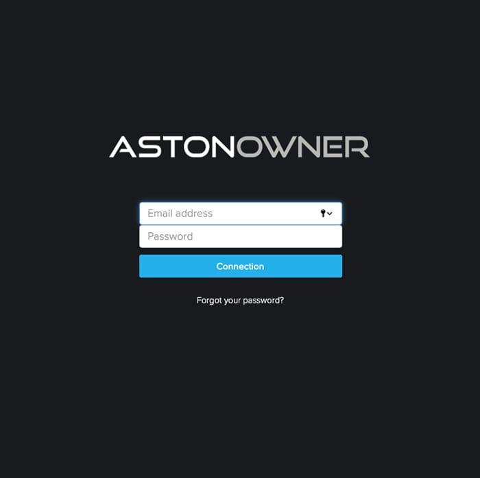 Accédez à votre espace Astonowner